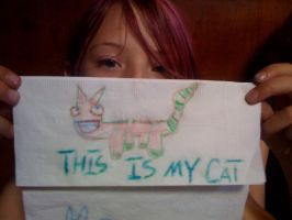 This is my cat by Nixiona
