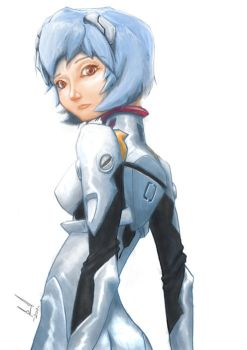 AYANAMI REI by shithlord