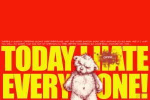 Today I hate everyone by Gib-Pinups-And-Toons