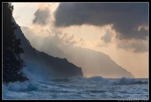 Na Pali Splash by aFeinPhoto-com