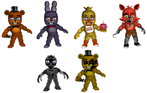 Five Nights at Freddybab's (Wave 1) by BlackFoxPixels