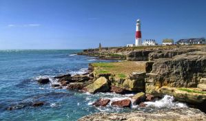 Portland UK Lighthouse by CMiner1
