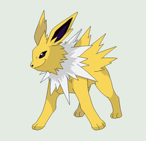 Jolteon Base by michy123