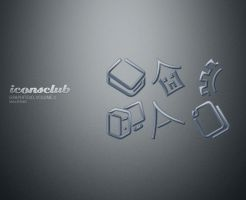 Graphite3D, Volume 2 - Mac by IconsClub
