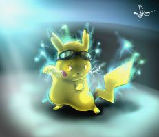 Pika-Power by Mr-Shin