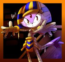 Blaze the cat +halloween+ by ArchiveN
