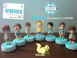 Ukiss The Special to Kissme Polymer clay by yuisama