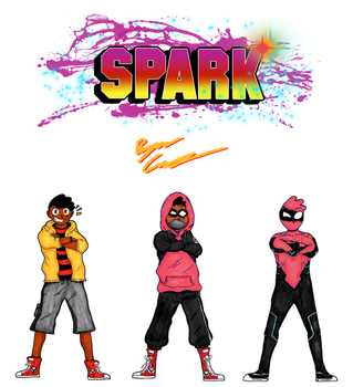 SPARK: Cole Shaw - Concept Art by Bryce1350