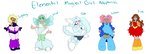 Magical Girl Adoptables 01 by AD-SD-ChibiGirl
