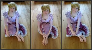 Tangled Rapunzel cosplay 10 by KatintheAttic