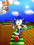 Green Hill Zone by HelenBaby