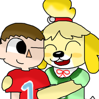 Isabelle and the mayor by WolfLover12321