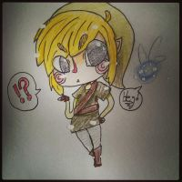 Link is a sassy pants by 8BitPastel