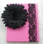 Black flower and lace by Holly-J