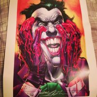 Signed Joker Print by SlaughterHound