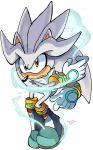 Silver the hedgehog by Omiza-Zu