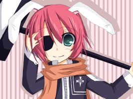 D.gray-man: Bunny Lavi by RainbowMaple