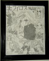 SEPHIROTH Collage by fanchielover15
