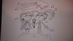 Better Off Alone! by smithandcompanytoons