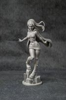 Supergirl Statue... by UsmanHayat