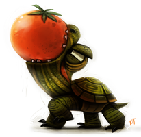 Day 557. OMNONOMONOMOM by Cryptid-Creations