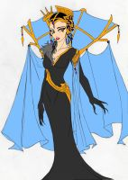 Sorceress Eda KH Style by TalenCRS