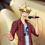 Hipster Singing America by deathnoteL2009