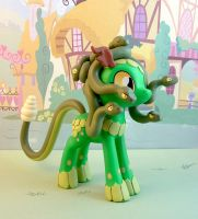 Medusa pony by krowzivitch