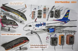 Musical Torture by B737TheAirliner