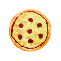 Pizza icon by yamshing