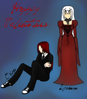 CdS Valentines Ball Outfits by xxDraconikaxx