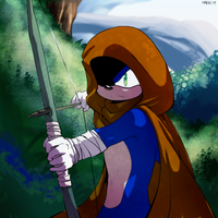 Sonic the Archer by General-RADIX