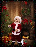 Peters 1st Christmas by krissybdesigns
