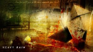 Heavy Rain wallpaper by De-monVarela