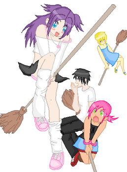 Brooms by Dani-Chan2