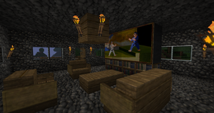 Minecraft HDTV by CuteAndy