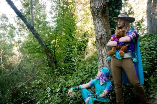 cosplay - Steel Ball Run - Johnny and Gyro by hanyaanfaery
