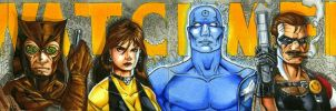 Watchmen Sketch Card Puzzle by RichardCox