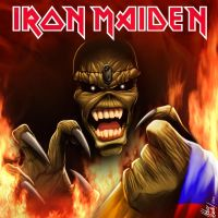 iron maiden by HelverAsbeth
