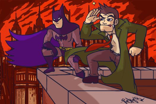 Gotham City, Pal by MetaKnuckles