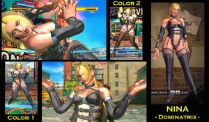 SFxT Mod: Nina - Dominatrix by moedjoer