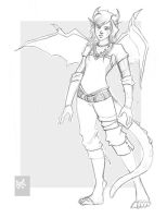 Races: Draconian Female by QuizzicallyQuixotic
