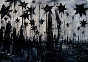 black star parade by glenox66
