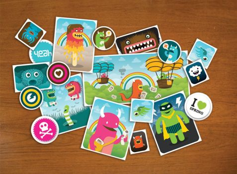Stickerset Collage by stingerstyler
