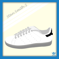 Stan Smith 2 Vector by SL05NED
