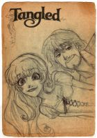 Tangled sketch by pepacs