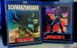 Blu Ray covers ''Predator'' and ''Predator 2'' by NiteOwl94