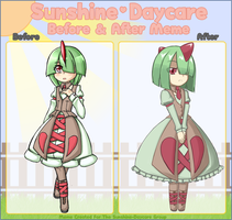 Before After Gena by EX-Master