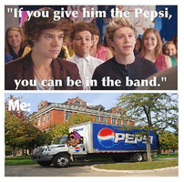 Harry needs Pepsi? Oh, I'll give him Pepsi... by qalaxybutt