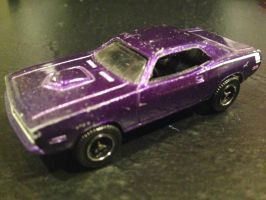 Matchbox 1970 Plymouth Barracuda (purple) by PATyler1
